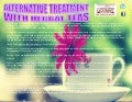 Alternative treatment with herbal teas