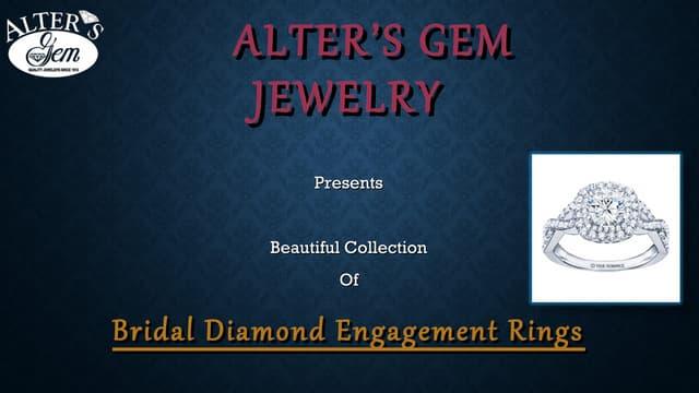 Bridal Diamond Engagement Rings - Alter's Gem