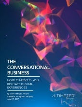The Conversational Business [REPORT PREVIEW]