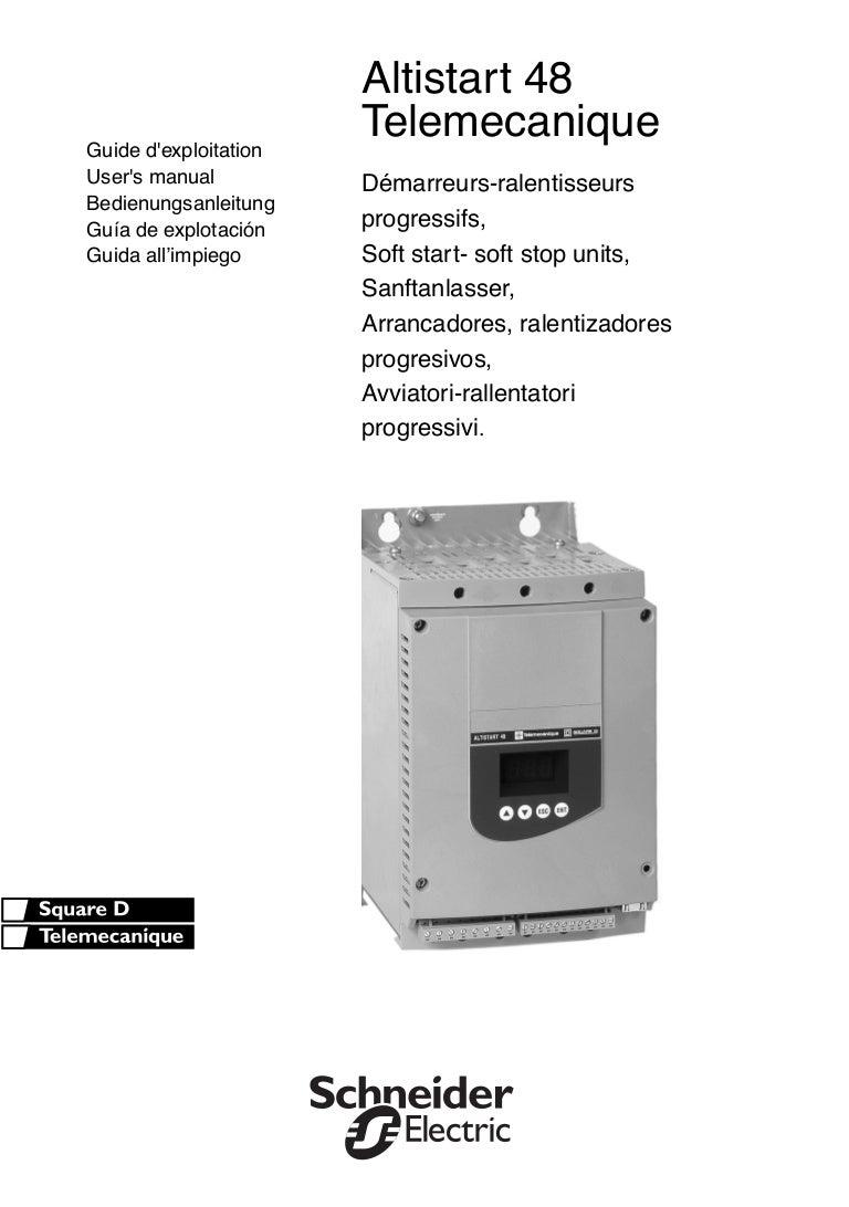 Schneider altistart 48 manual pdf(pdf) motortong. Com.