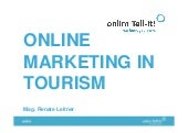 ALUMNI 2015_Online Marketing in the Touristic Sector, Renate Leitner
