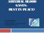 Arterial blood gases in ED: Rest in Peace?