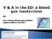 Venous Blood Gases in the ED: EuSEM15