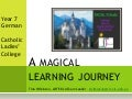 A magical learning journey