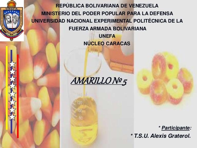 TARTRACINA (Amarillo Nº 5)