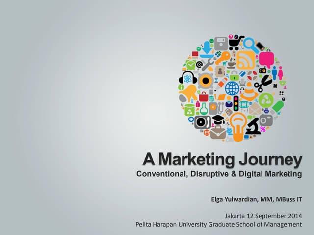 A Marketing Journey: Conventional, Disruptive & Digital Marketing