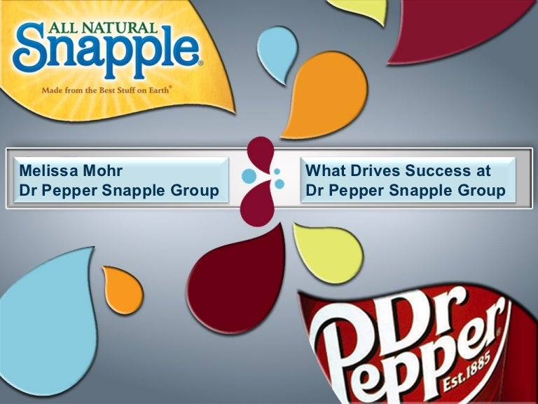 dr pepper snapple group inc 2 essay Dr pepper snapple group is an american soft drink company based in plano, texas, and as of july 2018 it is a business unit of the newly formed publicly traded conglomerate keurig dr pepper.