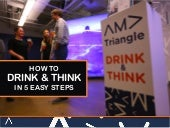 How to Drink & Think in Five Easy Steps
