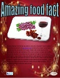 Amazing food fact