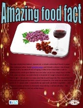 Amazing food fact