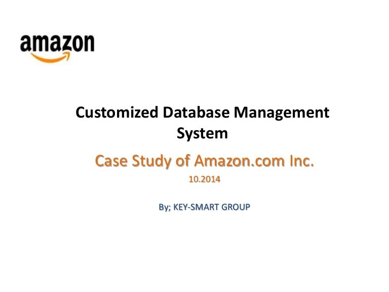 case study report on inventory management at amazon.com Amazon business model case study  in this report we analyze the company's  operating cycle as its inventory turnover is about half the time required.