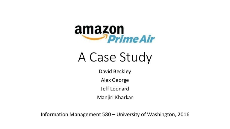 A STUDY ON AMAZON: INFORMATION SYSTEMS, BUSINESS ...