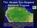 The Amazon Eco-Regional Research Program
