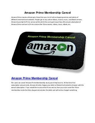 Amazon Prime Membership amazntv