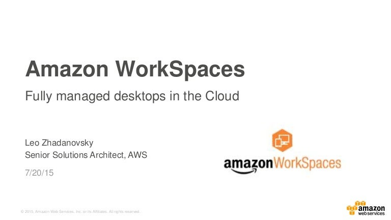 Amazon WorkSpaces For Education