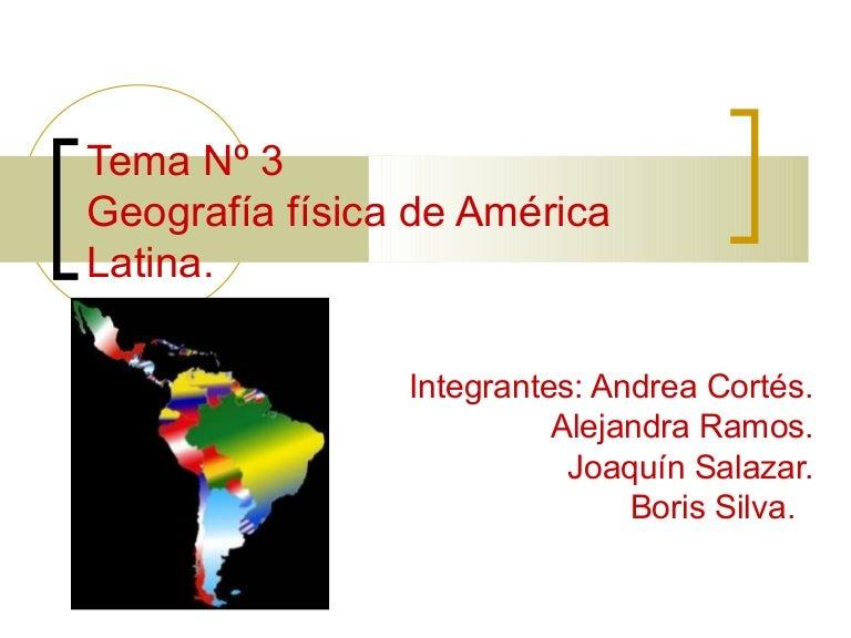 Cartina Fisica America Latina.America Latina