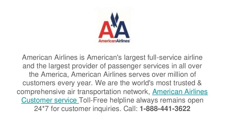 American Airlines Customer Service 1 888 441 3622