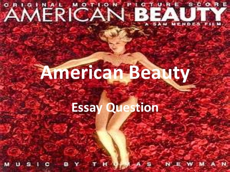 american beauty essay