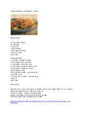 American chopsuey ( jain recipe) – eknazar