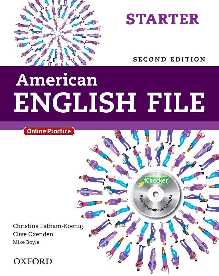 Conrad dax: american english file starter: teacher s book pdf.