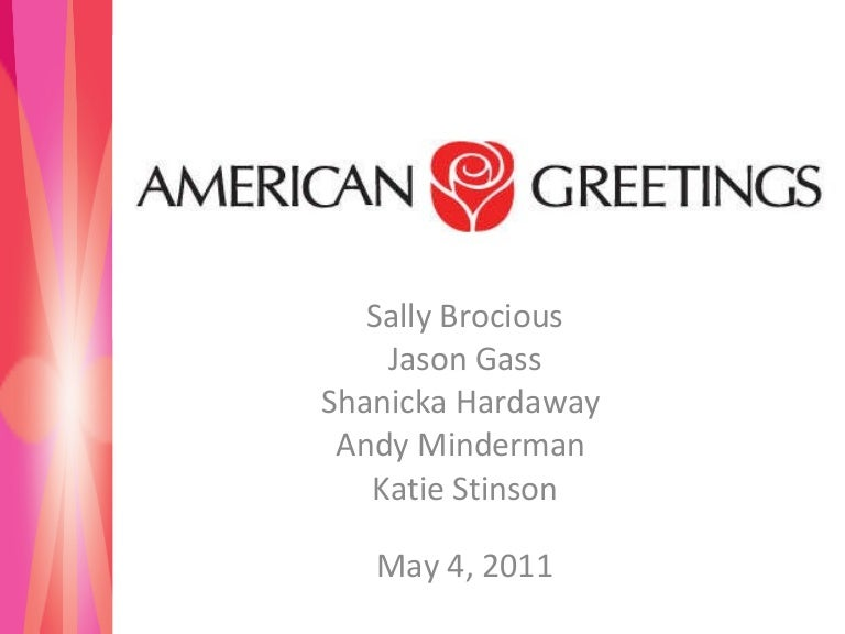 american greetings, Greeting card