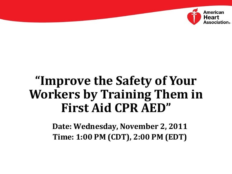 First aid cpr aed by american heart association toneelgroepblik Gallery