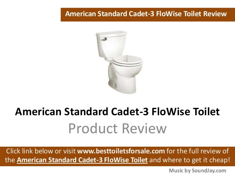 American Standard Cadet 3 Flowise Review