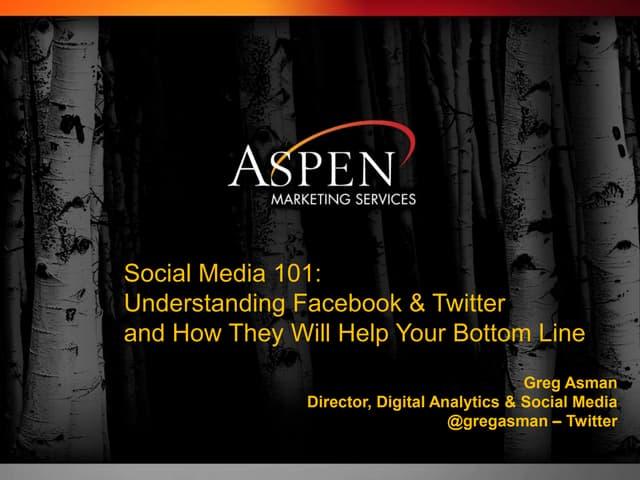 AmericasMart Atlanta Social Media 101 Presentation