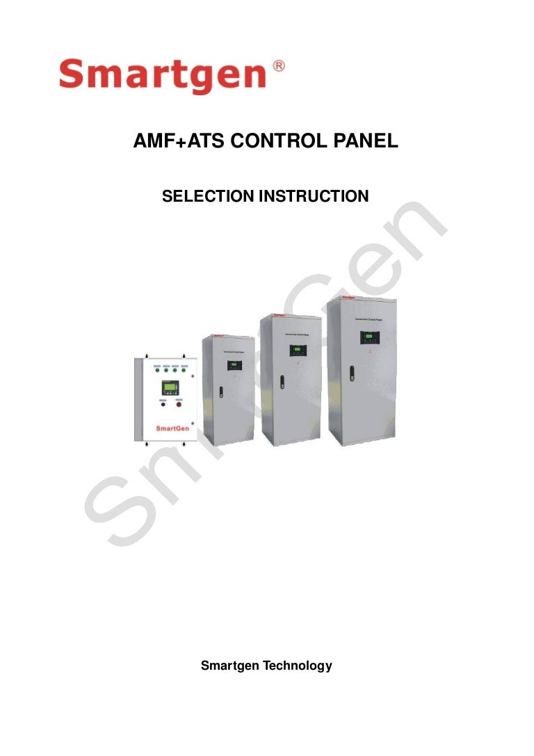 Amf Ats Control Panel V11 En Wiring