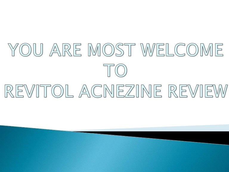 Revitol Acnezine Review