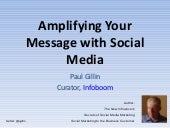 How to Amplify Your Message With Social Media