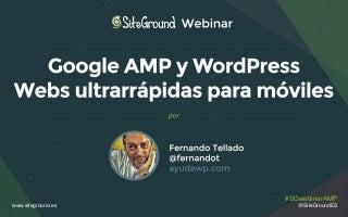 AMP y WordPress