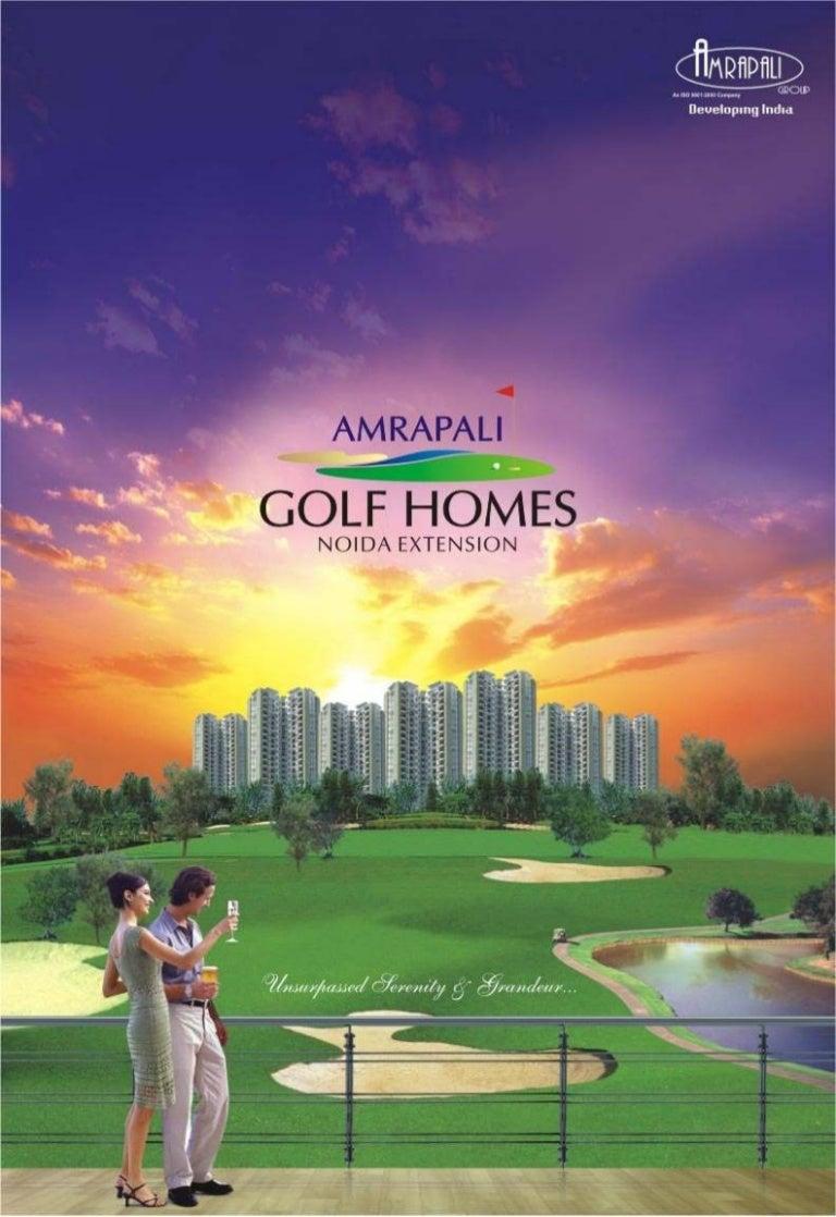 Amrapali golf-homes-brochure