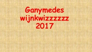 Wijnvereniging FG Ganymedes Amsterdam Wijnkwizz 10 jarig bestaan