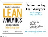 Understanding Lean Analytics (and how analytics helps businesses win)
