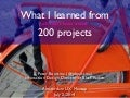 What I learned from 200 projects (Amsterdam UX)