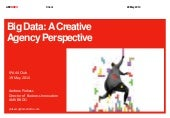 Big Data: A Creative Agency Perspective