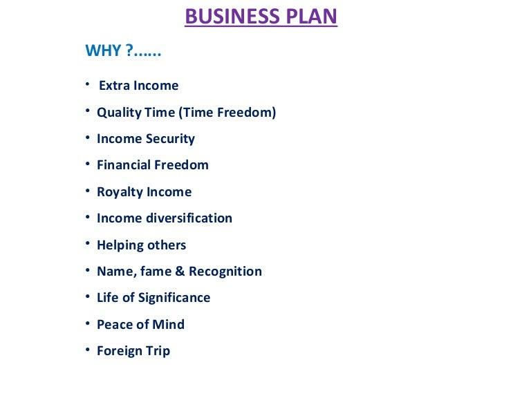 amway india bww business plan