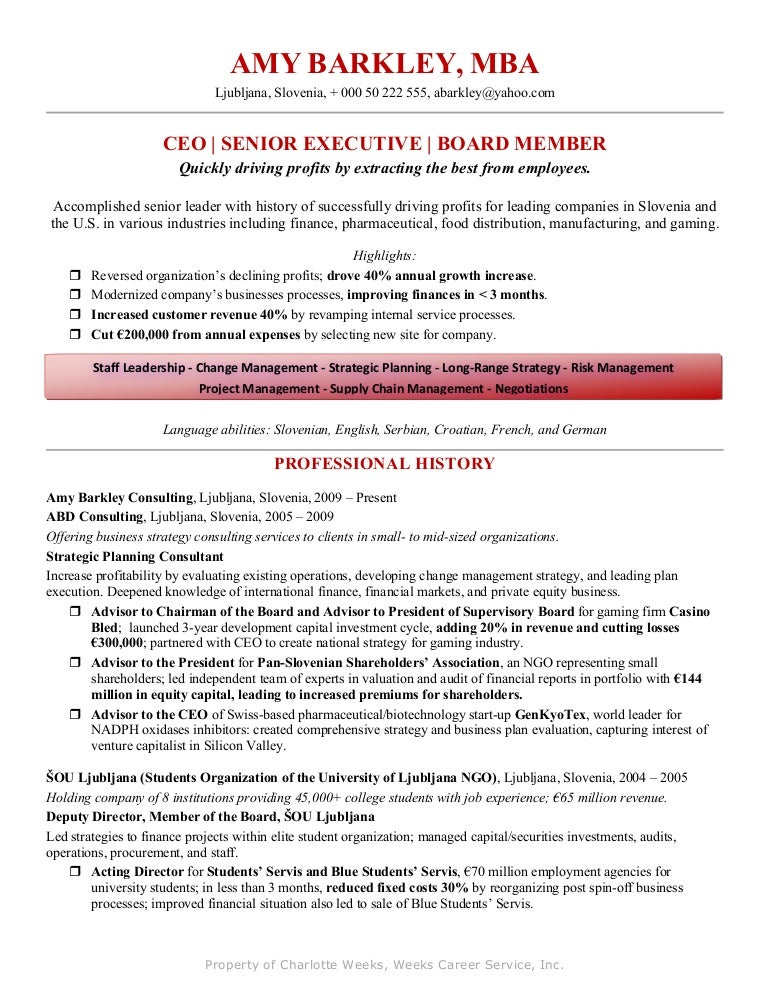 amy barkley resume example