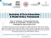 Inclusive ICTs in Education_Techshare India 2014