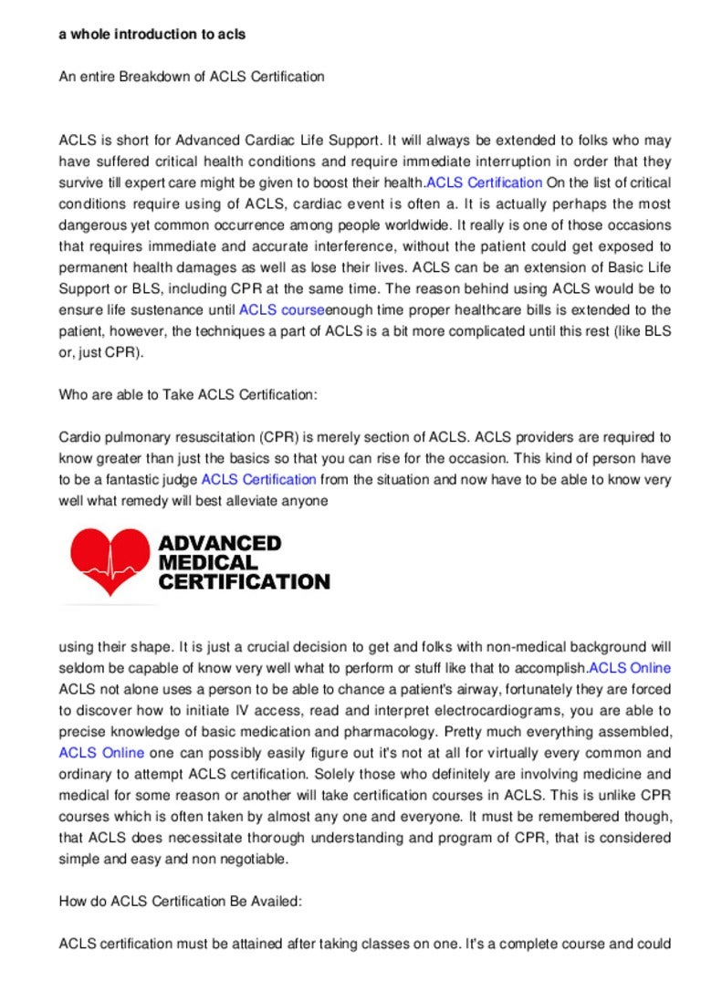 Cpr Acls Certification Images Creative Certificate Design Inspiration