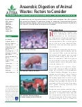 Anaerobic Digestion of Animal Wastes: Factors to Consider