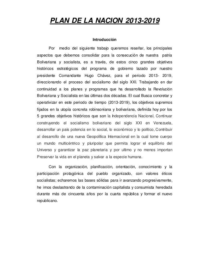 Analisis plan-historico-de-la-patria-2013-2019