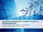 Analisis Fundamental Tecnico O Mental