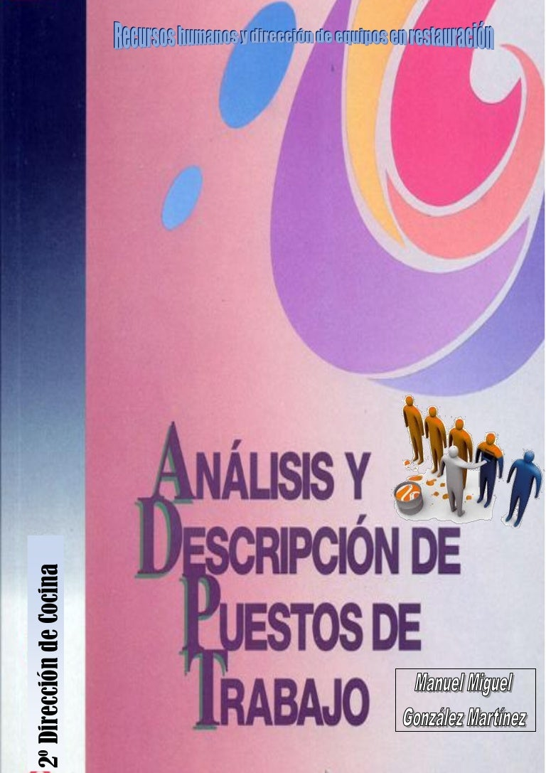 Analisis y descripcion de puestos de trabajo en Restauración