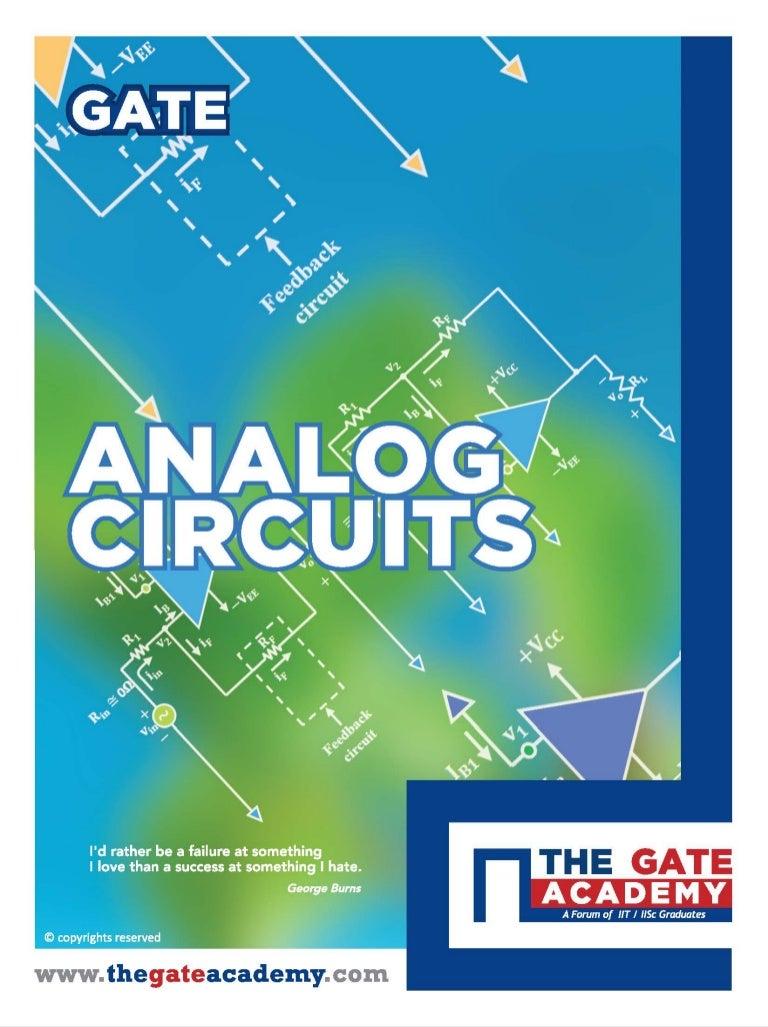 Electronics And Communication Engineering Analog Circuits The Gat Transistor Analogue Oscillator