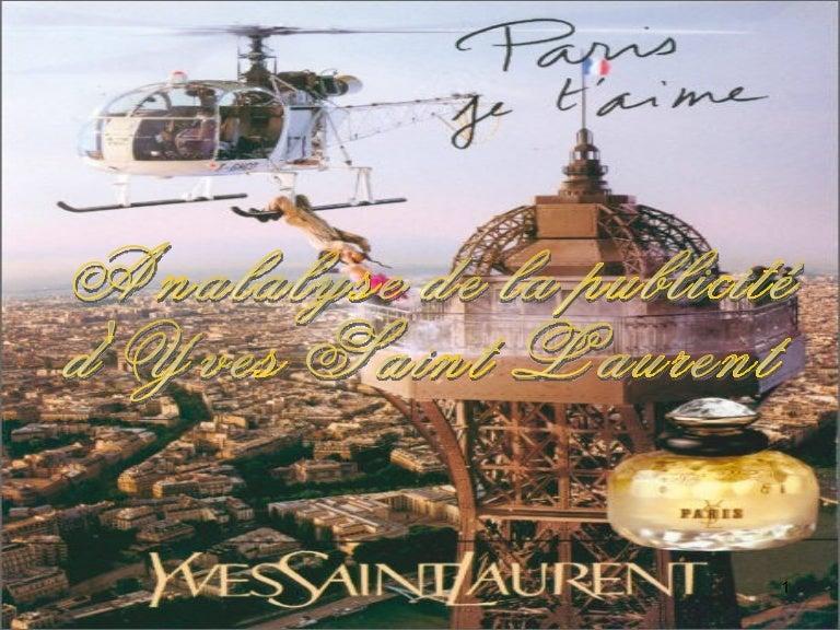 La Publicité De D'yves Saint Analyse Laurent rdxeQoWCB