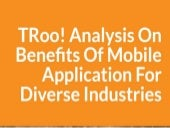 Analysis on benefits of mobile applications for diverce industries