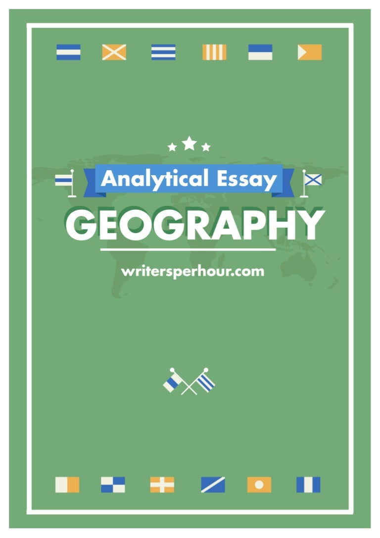 geography essay example