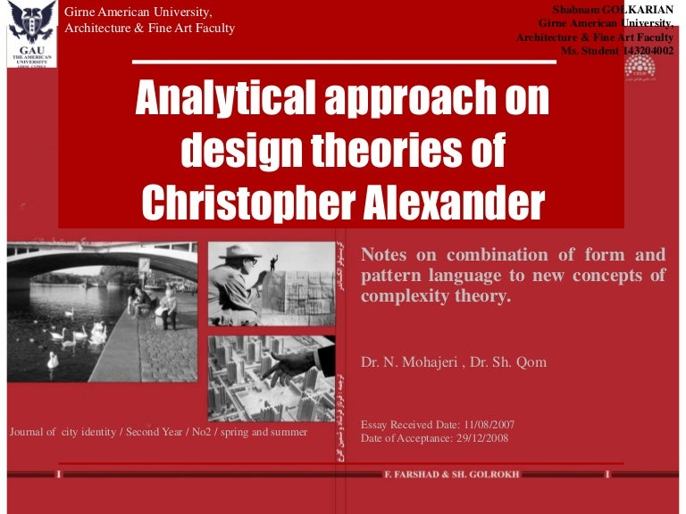 A New Theory Of Urban Design Christopher Alexander Pdf Free